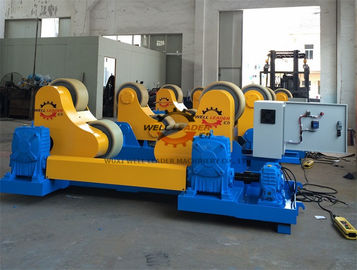 Heavy Duty Self Aligned Welding Rotator , 70 Ton Turning Rolls Welding For Pipe Industry