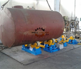 PU Coated Pipe Turning Rolls For Water Tank / Gas Tank / Oil Tank