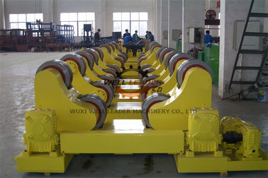 Boiler Conventional Welding Rotator , 10 Ton Pipe Rollers For Welding