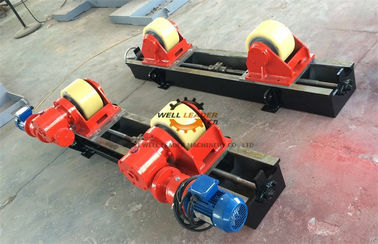 Automatic Pipe Welding Rotator , Pipe Rollers For Welding For Petrochemicals Industry