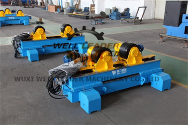 Hydraulic Self Centering Pipe Welding Rotator For Welding Tank Vessel Boiler Fabrication