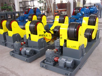 Variable Speed Self Aligned Welding Rotator For Pressure Vessel 70 Ton Capacilty