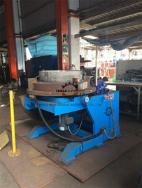 Compact Vessel Head  Round  Rotary Welding Positioner Table Tilting And Rotating