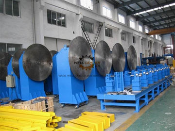 Tail Single Rotate Axis Welding Positioner Turntable 2 - 10m Distance Rotation