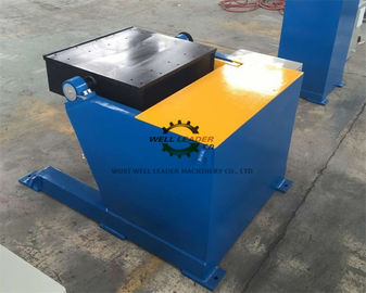 Tilting Square Table Pipe Welding Positioners 1 Ton Rated Capacity