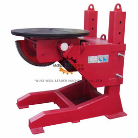 Tiltable Manual Pipe Welding Positioners 400mm Stroke Table Elevation