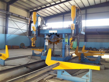 Gantry H Beam Welding Line Stable Running With Auto - Recovering System