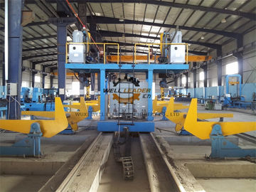 Gantry H Beam Cutting Machine / Submerged ARC Welding Machine For H Beam