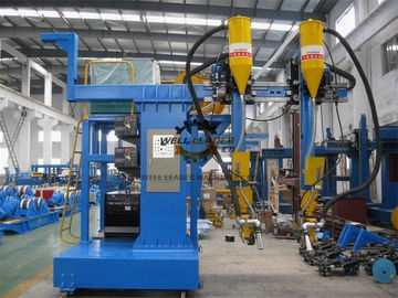 Cantilever H Beam Welding Machine / Submerged ARC Welding Machine