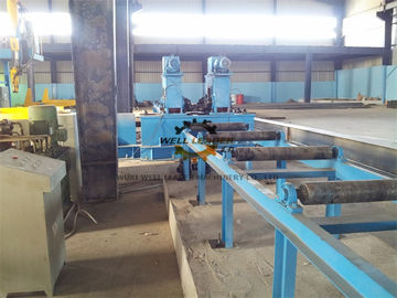 Automatic H Beam Welding Line For Straightening / Spot Welding