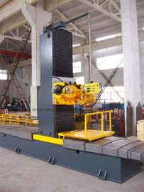 Carbon Steel H Box Beam Profile Milling Machine 0 - 45° Milling Head Angle