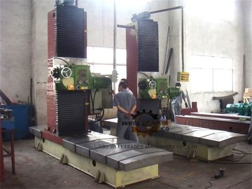 Automatic Steel End Facing Profile Milling Machine With Electrical System