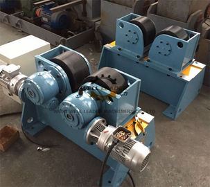 Tank rotator and pipe turning rolls welding automation tools designed model