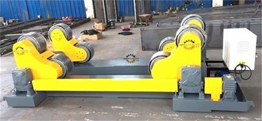 20 Ton Self Aligned Welding Rotator Roller Bed With PU Wheels for 6000mm diameter tank