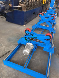 PU Coated Pipe Turning Rolls For Automatic Feeding And Welding