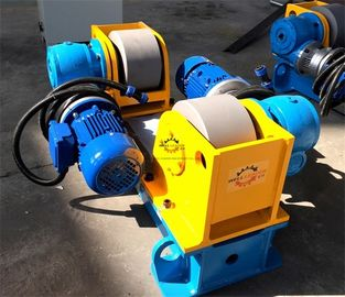 Full Steel Tube / Light Pole Welding Machine 3 Ton Conventional Welding Rotator