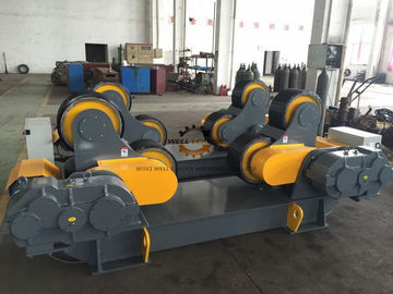 40 Ton CE Approved Pipe Welding Rotator For Offshore Pipe / Pressure Vessel