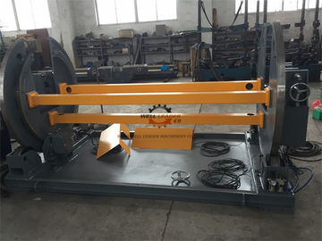 Light Pole Machine Motorized Elevation Self Centering PLC Connection With Robot