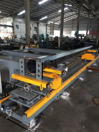 Tapered Light Pole Welding Machine Fit Up Table Pole Body And Flange Welding