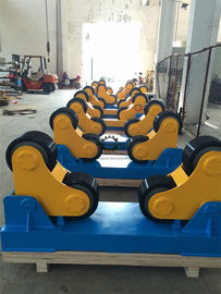 Tank PIpe Self-Aligning Rotators With Double Drive , 0.1-1 m/min Roller Speed