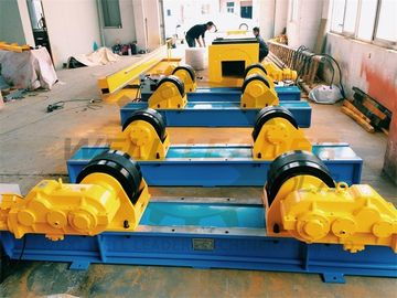Conventional Pipe Welding Rotator Rubber Wheels Inverter Control Welding Speed