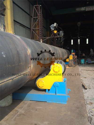 Heat Exchanger Pipe Welding Rotator For Automatic Welding / Blasting / Painting