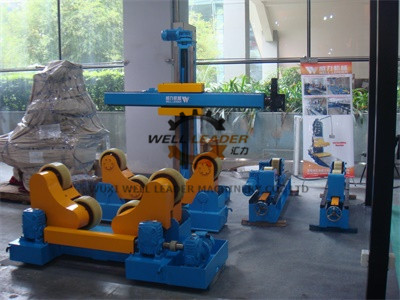 20 Ton Rotary Capacity Pipe Welding Rollers Optional Wireless Remote control