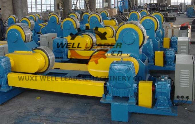 100 Ton Heavy Duty Pipe Rollers Rotator With Moving Wheels CE Approved