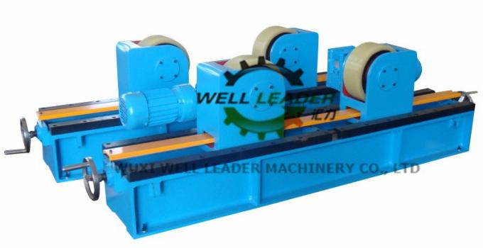 Manual Adjustable PU Tank Turning Rolls 40T Loading Capaicty CE Standard