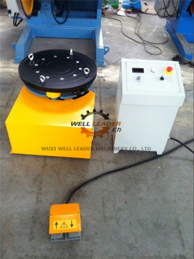 Foot Pedal Turntable Welding Rotating Table With Electric Control System