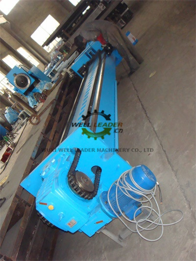 Pipe Butt Column Boom Welding Machine With 360°Rotation Manual Locking