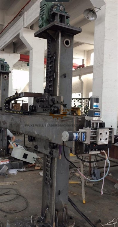 Manual Pipes Column And Boom Welding Manipulators 360°Column Rotate