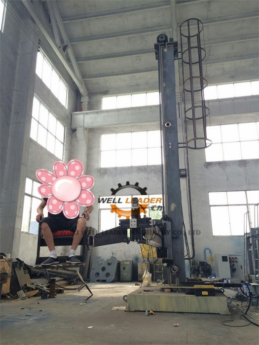 Longitudinal Seam Column And Boom Welding Manipulators For Tank / Wind Tower