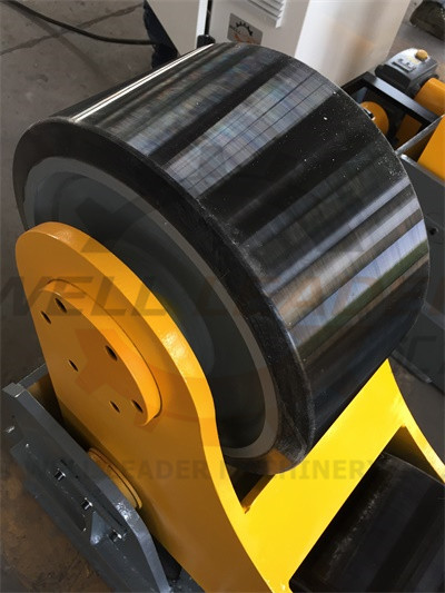 Self-Aligned Welding Rotator One Drive And One Idler , 400 x 160 mm PU rollers