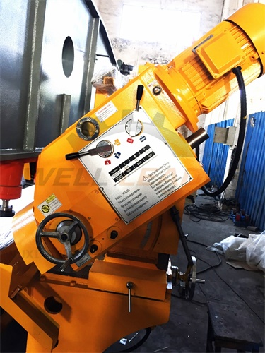 Steel Plate Edge Milling Machine 0.75kw Chamfering 12m - 50mm Thickness
