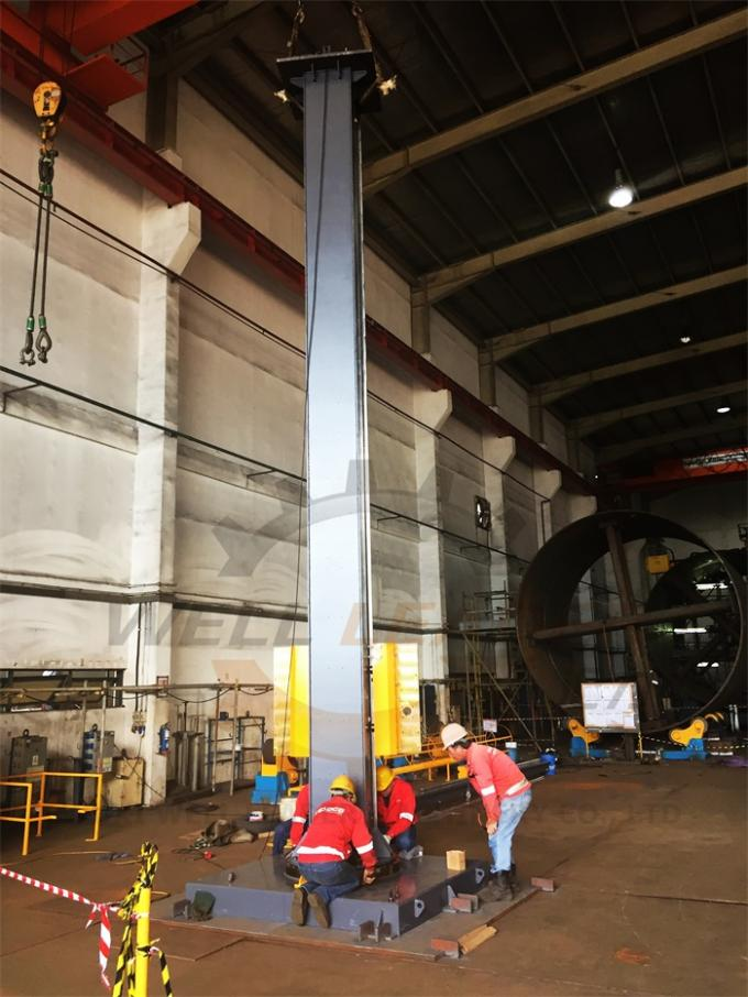 Industrial Welding Manipulator Wind Tower Production Fix Column Boom Straight And Circle